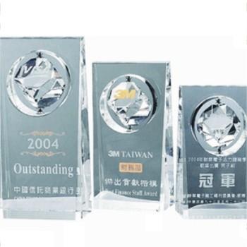 WL-312水晶獎牌